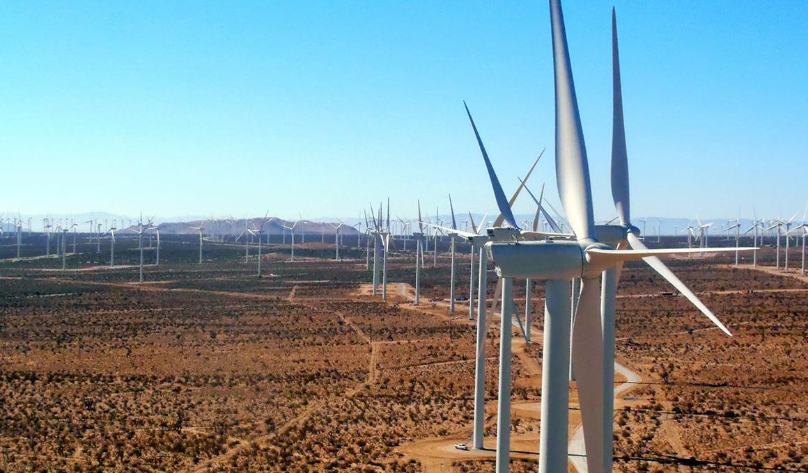 Kern County CA Wind Energy Center