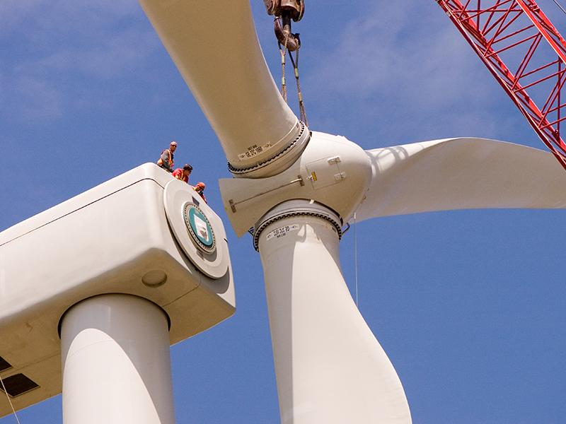 Windmill installation